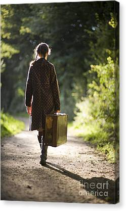 Leaving Home Canvas Print by Lee Avison