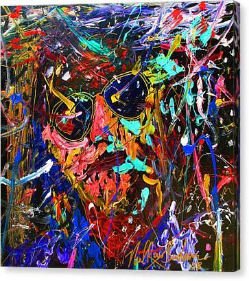 Lebowski Love Canvas Print by Neal Barbosa