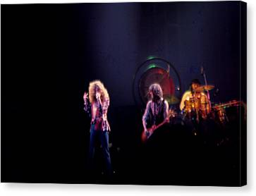 Led Zeppelin  Canvas Print by Kevin Cable