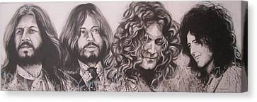 Led Zepplin Canvas Print by Bruce McLachlan