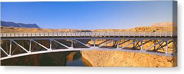 Lees Ferry In Marble Canyon, Navajo Canvas Print by Panoramic Images