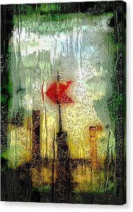 Left Canvas Print by Jack Zulli