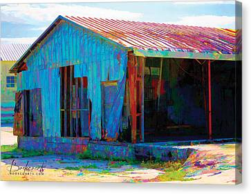 Left To Fly Canvas Print by Robin Lewis