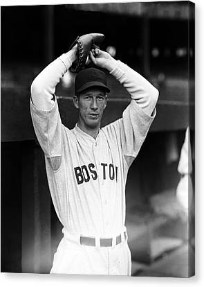 Lefty Grove Looking Forward At Camera Canvas Print by Retro Images Archive