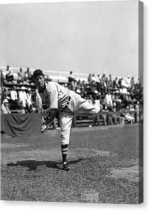 Lefty Grove Working Out Before Game Canvas Print by Retro Images Archive