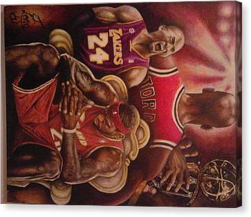Legacy..to Be King Canvas Print by Jamion Williams