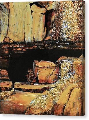 Legendary Lost Dutchman Mine Canvas Print by JAXINE Cummins