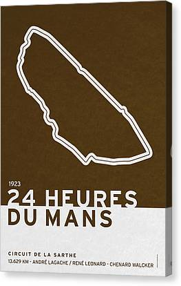 Legendary Races - 1923 24 Heures Du Mans Canvas Print by Chungkong Art