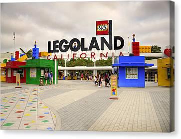 Legoland California Canvas Print by Ricky Barnard
