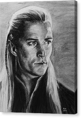 Legolas Canvas Print by Kira Rubtsova