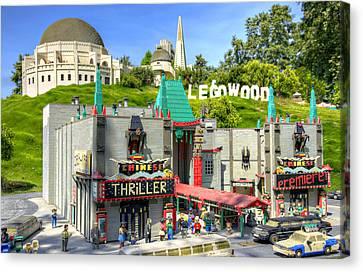 Legowood Canvas Print by Ricky Barnard