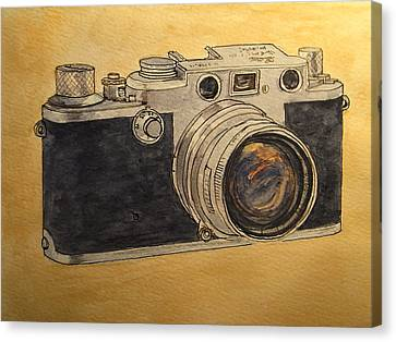 Leica IIif Canvas Print by Juan  Bosco