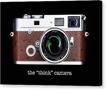 Leica M7 Canvas Print by Dave Bowman