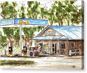 Leipers Fork Market Canvas Print by Tim Ross