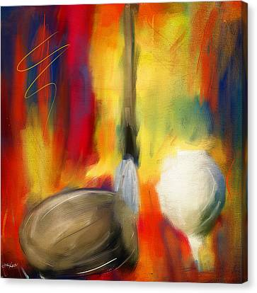 Leisure Play Canvas Print by Lourry Legarde