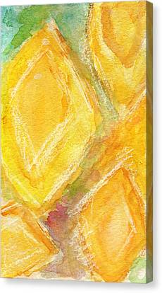 Lemon Drops Canvas Print by Linda Woods