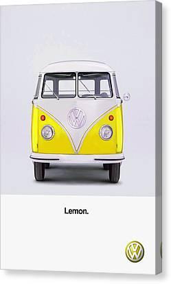 Lemon Canvas Print by Mark Rogan