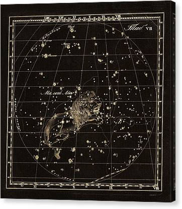 Leo Minor Constellation, 1829 Canvas Print by Science Photo Library