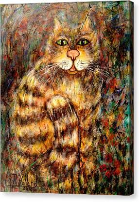 LEO Canvas Print by Natalie Holland