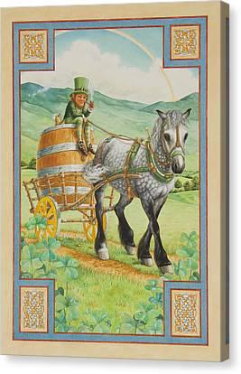 Leprechaun Canvas Print by Lynn Bywaters