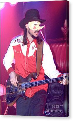 Les Claypool Canvas Print by Front Row  Photographs
