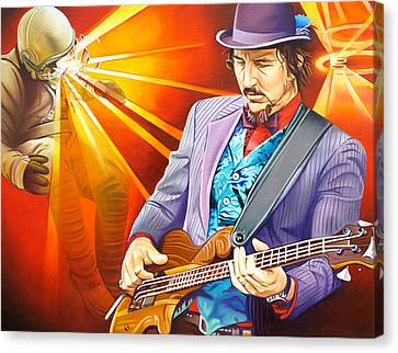 Les Claypool's-sonic Boom Canvas Print by Joshua Morton
