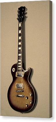 Les Paul Electric Guitar Canvas Print by Bill Cannon