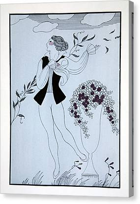 Les Sylphides Canvas Print by Georges Barbier