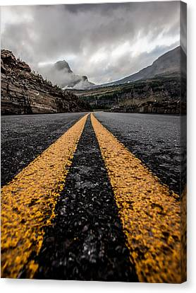 Less Traveled Canvas Print by Aaron Aldrich