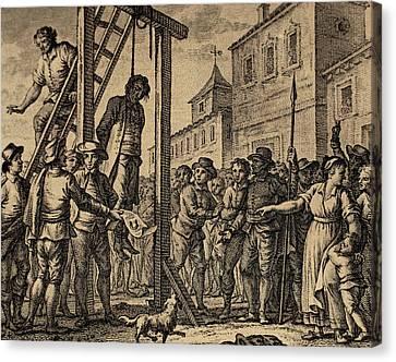 Lesser Antilles, Grenada, Governor Hanged Canvas Print by Bridgeman Images