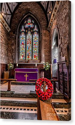 Lest We Forget Canvas Print by Adrian Evans