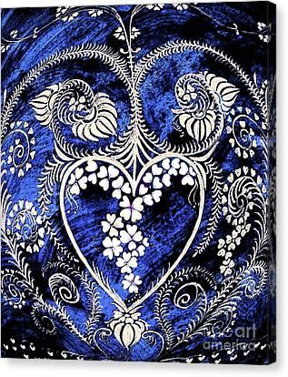 Let Love Rule The World. Canvas Print by Anjali Vaidya