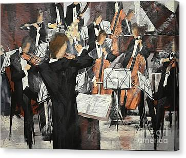 Let The Music Play Canvas Print by David Bearden