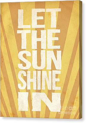 Let The Sunshine In Canvas Print by Pati Photography