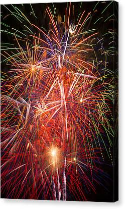 Let Us Celebrate Canvas Print by Garry Gay