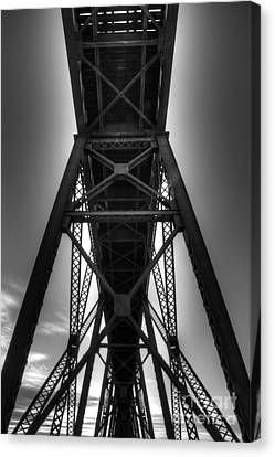 Lethbridge High Level Bridge 4 Canvas Print by Bob Christopher