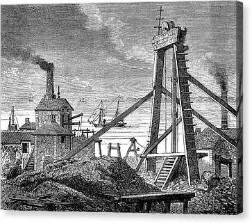 Levant Mine Canvas Print by Collection Abecasis