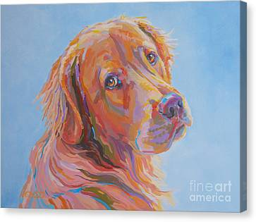 Lewis Canvas Print by Kimberly Santini
