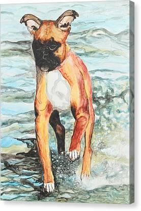 Leyla Canvas Print by Jeanne Fischer