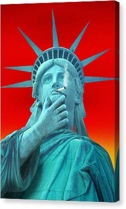 Liberated Lady - Special Canvas Print by Mike McGlothlen