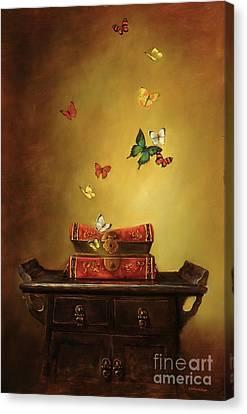 Liberation - Tibetan Dream Canvas Print by Lori  McNee