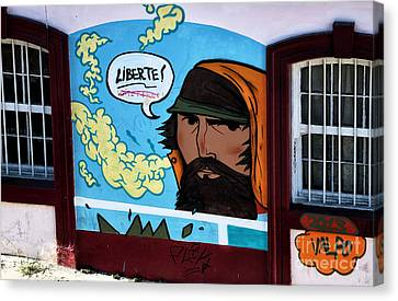 Liberte In Chile Canvas Print by John Rizzuto