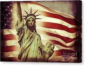 Liberty Canvas Print by Az Jackson