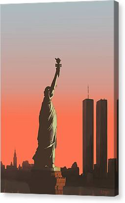 Liberty Canvas Print by Mike Linman