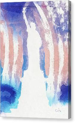 Liberty Canvas Print by Mo T