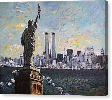 Liberty Canvas Print by Ylli Haruni