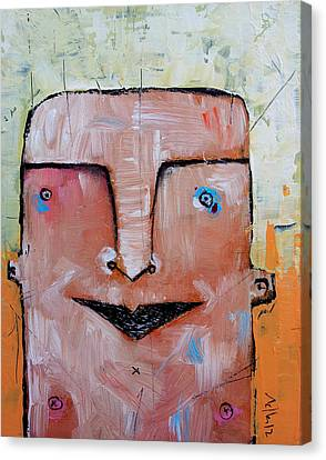 Life As Human No. 37 The Lost Tribe Canvas Print by Mark M  Mellon
