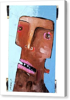 Life As Human Number Eighteen Canvas Print by Mark M  Mellon