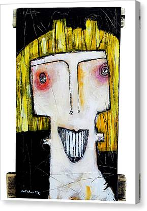 Life As Human Number Thirteen Canvas Print by Mark M  Mellon