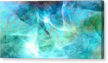 Life Is A Gift - Abstract Art Canvas Print by Jaison Cianelli